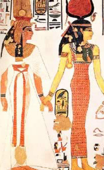 The Egyptians considered the color of an object to be an integral part of its nature or being.