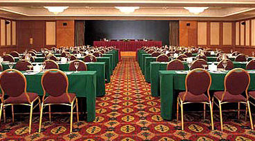 One of a host of meeting rooms in the Conrad Cairo