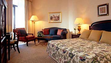 An executive room in the Conrad Cairo