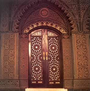 Ancient Church Doors