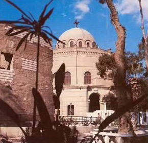 Churches of Coptic   Cairo in Egypt