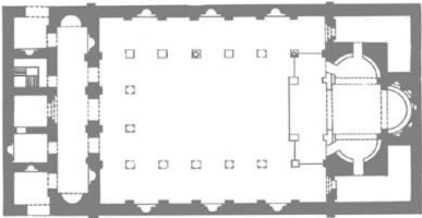 Layout of the Dendera Chruch