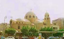 St George's Coptic Church in Helipolis.
