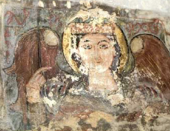 The archangel Michael from the Monastery of al-Baramus in Wadi Natrun