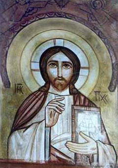 Christ Pantocrator Icon from the Monastery of Anba Bishoi (Pshoi)