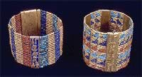 Bead bracelets of Queen Ahhotep