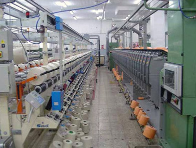 A modern cotton production facility in Egypt