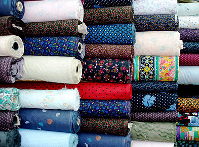 Pure Egyptian cotton cloth at 5 LE per meter