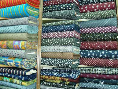 Colorful Egyptian Cotton Fabric Sold By The Meter