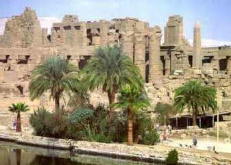 The cult center of Karnak