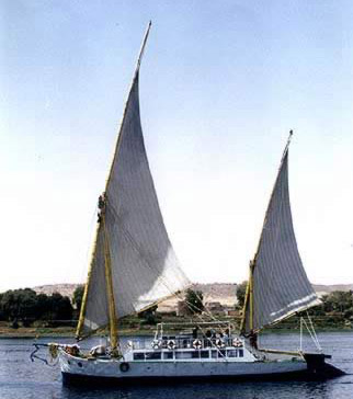 A view of the Royal Cleopatra