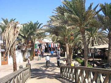 The Assaleh area of Dahab