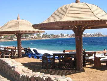 A fiew of the Dahab Promenade