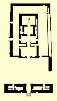 Plan of the temple of Dakka (Thoth)