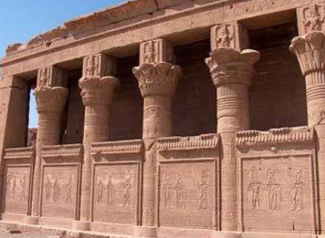 The Roman era Birth House at Dendera