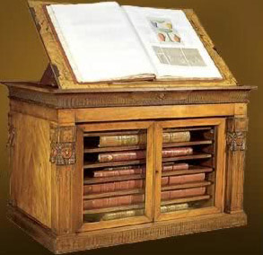 Charles Morel, cabinet designed to hold the volumes of the Descrition de l'Egypte, 1813-36
