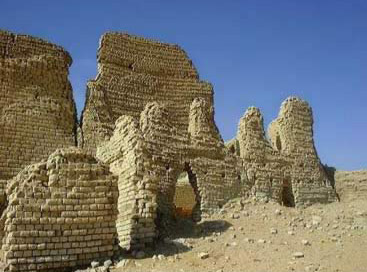 The ruins of Dimeh in the Fayoum