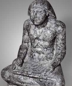 Statue of Setka, Djedefre's son, as a scribe
