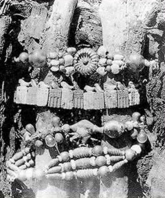 Jewelry from Tomb O at Abydos