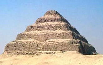 The Great Step Pyramid of Djoser at Saqqara