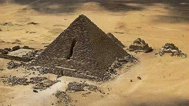The great pyramids of Giza are not only tombs, but full of symbolism