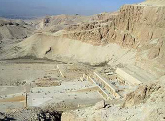 Another view of the Temple of Hatshepsut