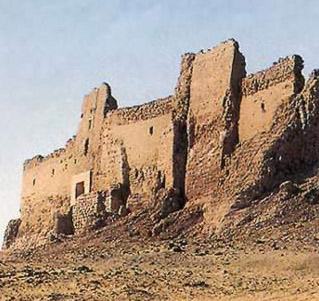 The Fortress at Dush in Egypt