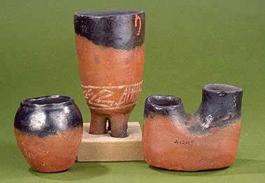 BLACK-TOPPED RED-WARE CERAMICS