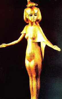 Statue of the Goddess Selkis