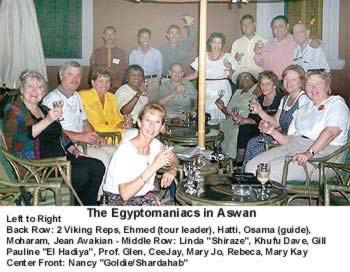 Egyptomaniacs with Dr. Zahi Hawass at Giza
