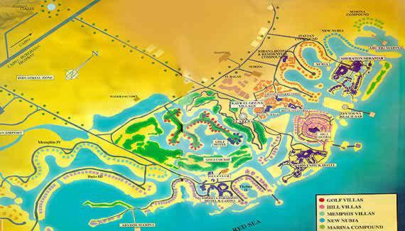 Map Of El Gouna Egypt - Map of egypt el gouna