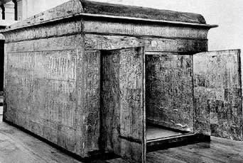 Tutankhaman's Second Gilded Shrine
