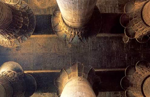Ceiling of the Hypostyle Hall at Esna