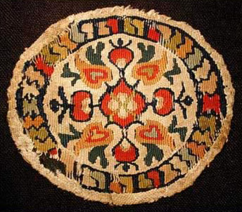 A Coptic Roundel dating between the 6th and 8th century AD