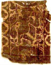 A dancer on Coptic Textiles, date uncertain