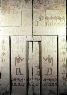 False Door of Kaihap at Saqqara, 5th Dynasty