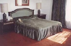 The Auberge du Lac have fine rooms and decor
