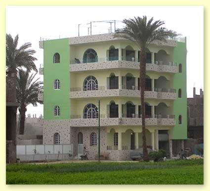 A view of the appartments owned and operated by Flats in Luxor
