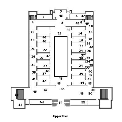 Egyptian Museum upper floor
