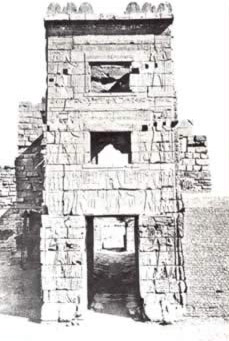 The Tower at Medinet Habu