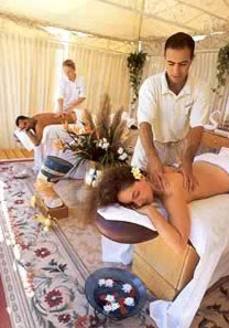 the Ritz-Carlton offers different kind of massage like anti-stress, anti-cellulite and Japanese shiatsu