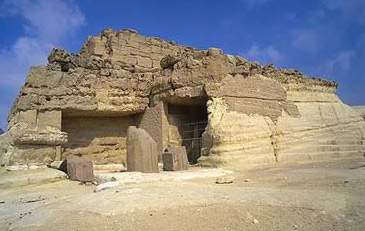 Khentkawes I's tomb on the Giza Plateau