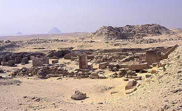 The tomb of Khentkawes II at Abusir