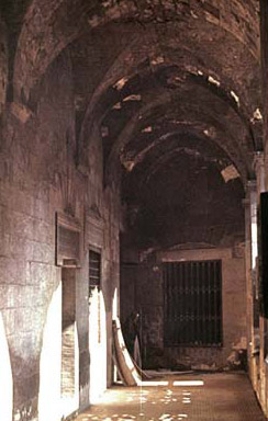 A view of one of the corridors