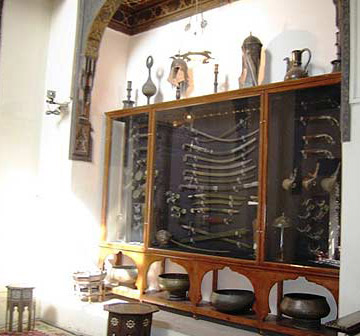 The House is also Famous for its many Islamic Era Artifacts, such as Anderson's Collection of Swords