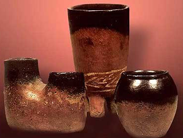 Predynastic Black-Top Pottery from Gebelein