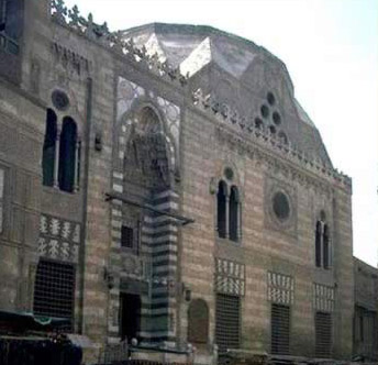 The facade of the Mausoleum and Khanqah