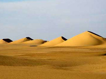 Sand Dunes in the Eastern Gilf Kebir