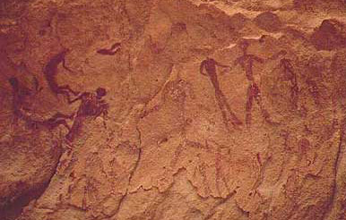 Rock Art in the Cave of the Swimmers
