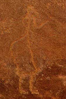 Rock Painting referred to as